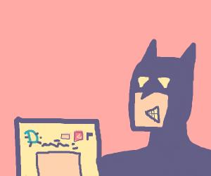 bat plays Drawception