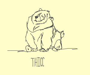 Thicc bear