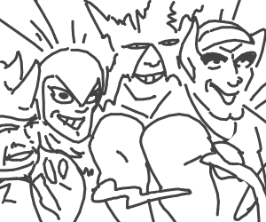 me and my boys as jojo characters