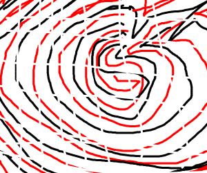 Figerprint, heavily zoomed in