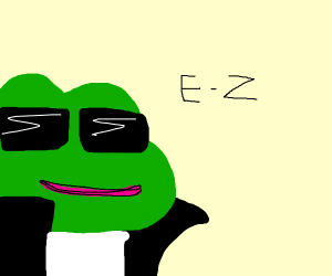 Pepe the Gangsta