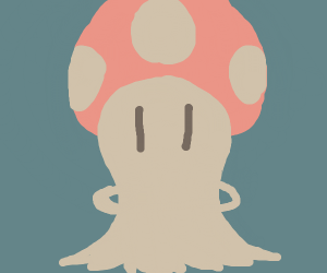 Mario Mushroom Cloud