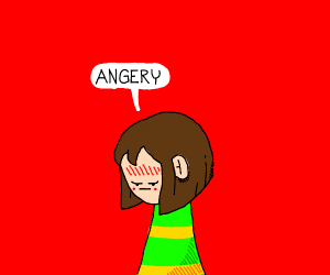 Chara is angered