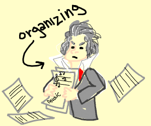 Musician Organizing