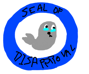 crying seal
