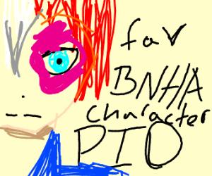 Favorite BNHA Character PIO