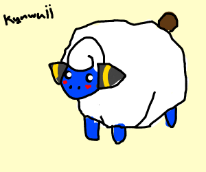 super cute mareep