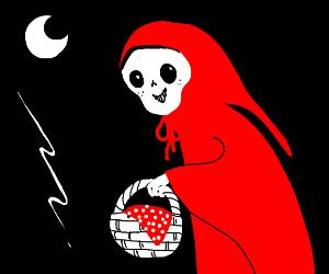 Little Red Riding Skeleton