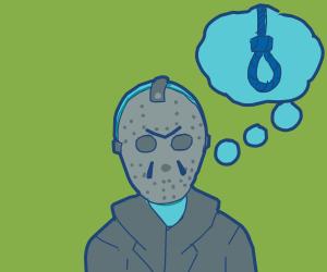 hockey mask man wants to die