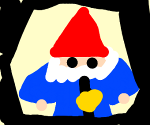 gnome with thicc arms