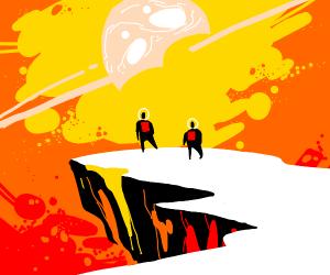 70s sureal Sci Fi