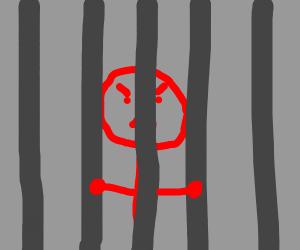 red stickman hates jail
