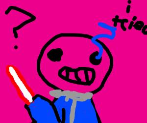Darth Vader was actually Sans all along?