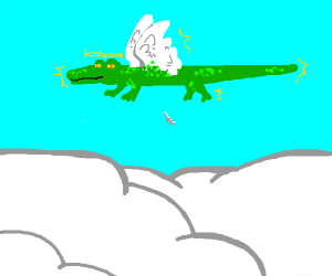 crocodile angel