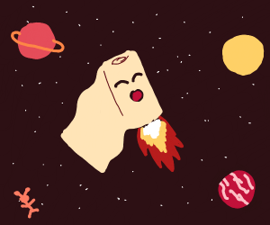 Bandages on a space adventure