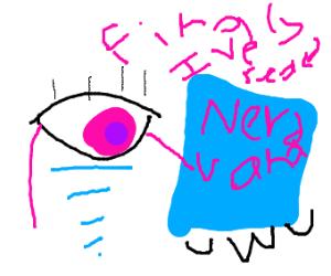 floating eye reaches nirvana