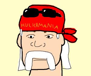 Hulk Hogan or Mark Hamill, I'm not sure