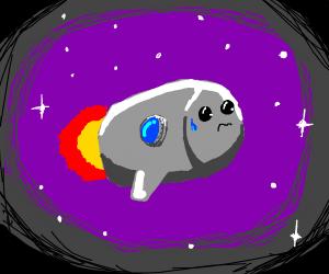 woried spaceship
