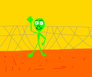 Alien freed from area 51