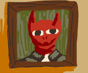 devil in a painting