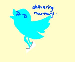 Lenny the twitter bird