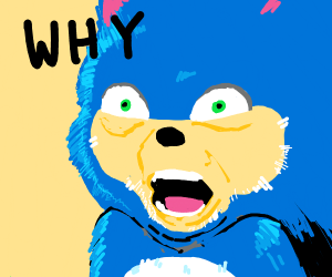 sonic and a why font