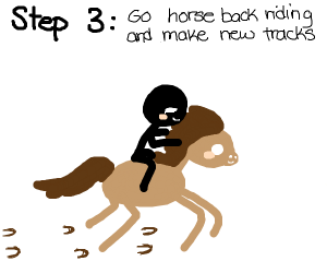 Step 2: Cover your tracks!