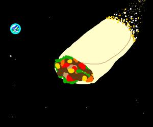 space burrito