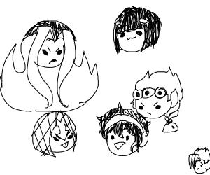 Jojo characters