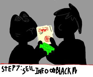 Step 6: Accidental discover government secret
