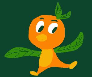 Disney Orange (Dole whip) bird