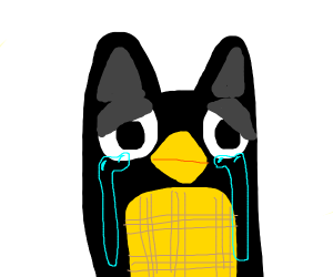 A furby crying?