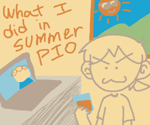 What I did in summer PIO (Fix myself)