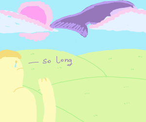 So long, space whale . . .