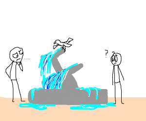 Uneven Fountain