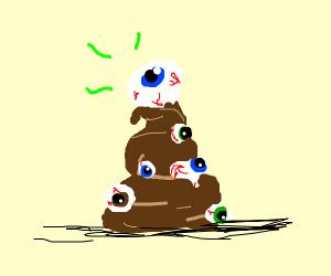 Creepy poop