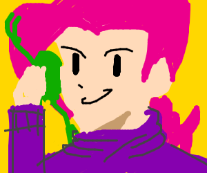 doppio on frog phone with king crimson