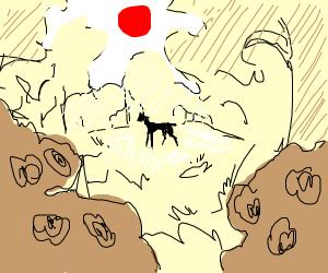 a small deer