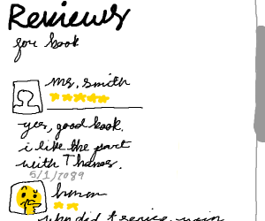 5 star book review