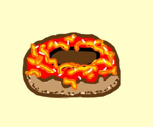 Spaghetti donut
