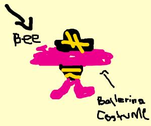 Mosquito is prima ballerina