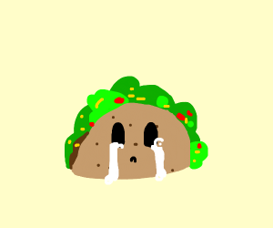 Taco cries John who is dead