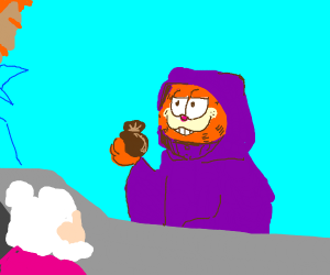 Garfield, the Deals Warlock