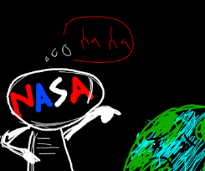 Nasa humiliates Earth-chan