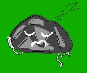 Sleepy rock