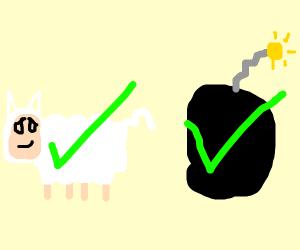 Lamb check bomb check