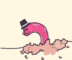 A dapper worm