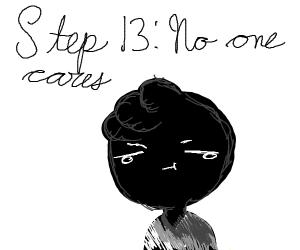Step 12: Heath Cliff forking DIES