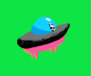 cow ufo
