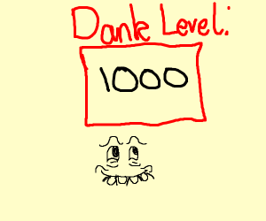 Graph showing number dankness
